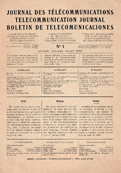 January 1948: the Journal becomes trilingual</p>